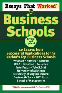 Baixar Essays that worked for business schools (revised) pdf, epub, eBook