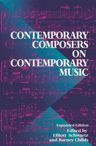 Baixar Contemporary composers on contemporary music pdf, epub, eBook