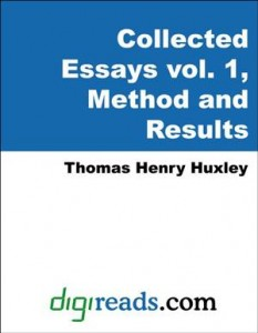 Baixar Collected essays of thomas henry huxley, pdf, epub, eBook