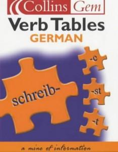 Baixar Collins gem german verb tables pdf, epub, ebook