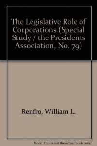 Baixar Legislative role of corporations pdf, epub, eBook