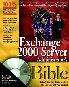 Baixar Exchange server 2000 administrator's bible pdf, epub, eBook