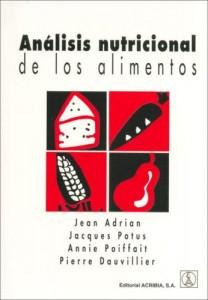 Baixar Analisis nutricional de los alimentos pdf, epub, eBook