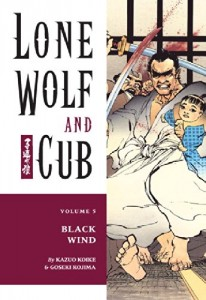 Baixar Lone wolf and cub v.05 – black wind pdf, epub, eBook