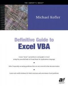 Baixar Definitive guide to excel vba pdf, epub, eBook