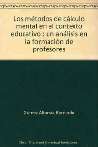 Baixar Metodos de calculo mental en el contexto ed, los pdf, epub, eBook
