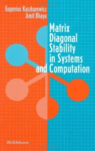 Baixar Matrix diagonal stability in systems and computati pdf, epub, eBook