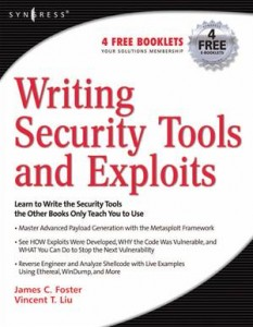 Baixar Writing security tools and exploits pdf, epub, eBook