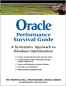 Baixar Oracle performance survival guide pdf, epub, eBook