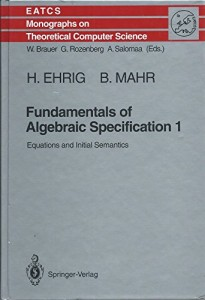 Baixar Fundamentals of algebraic specification 1 pdf, epub, ebook