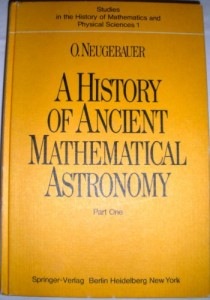 Baixar History of ancient mathematical astronomy, part 1 pdf, epub, ebook