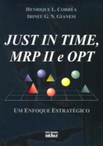 Baixar Just in time, mrp ii e opt pdf, epub, ebook