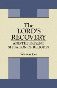 Baixar Lord's recovery and the present situation of pdf, epub, ebook