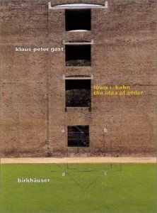 Baixar Louis i. kahn – the idea of order pdf, epub, eBook