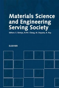 Baixar Materials science and engineering serving society pdf, epub, eBook