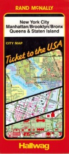 Baixar New york city city map; manhattan, brooklyn, bronx pdf, epub, eBook
