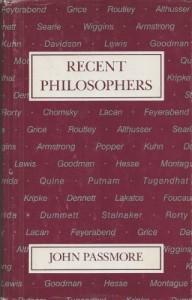 Baixar Recent philosophers pdf, epub, eBook