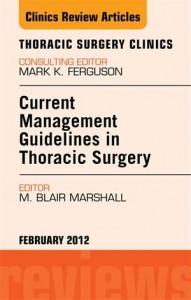 Baixar Current management guidelines in thoracic pdf, epub, ebook