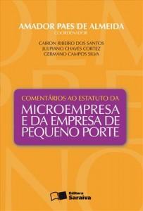 Baixar Comentarios ao estatuto da microempresa e da pdf, epub, eBook