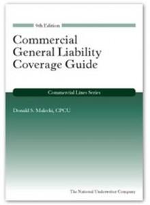 Baixar Commercial general liability, 9th edition pdf, epub, ebook