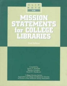 Baixar Mission statements for college libraries pdf, epub, eBook