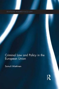Baixar Criminal law and policy in the european union pdf, epub, ebook