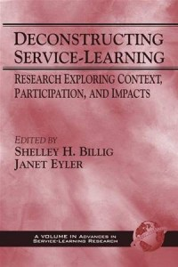 Baixar Deconstructing service-learning: research pdf, epub, eBook