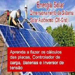 Baixar Energia Solar Calculo do Dimensionamento Off Grid pdf, epub, ebook