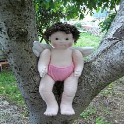 Baixar PDF DIGITAL DOWNLOAD Soft Sculpture Doll Angel Baby in my Garden pdf, epub, eBook