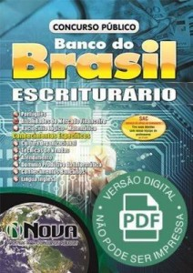 Baixar Apostila Concurso Banco do Brasil – Escriturário pdf, epub, eBook