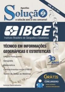 Baixar Apostila Digital IBGE – Técnico em Informações Geográficas e Estatísticas pdf, epub, eBook