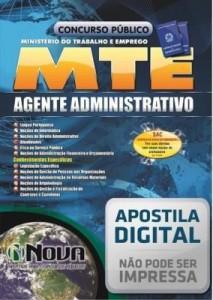 Baixar Apostila Concurso MTE – Agente Administrativo pdf, epub, eBook