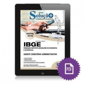 Baixar Apostila Digital IBGE – Agente Censitário Administrativo pdf, epub, eBook