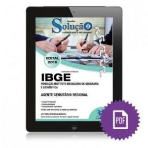 Baixar Apostila Digital IBGE – Agente Censitário Regional pdf, epub, eBook