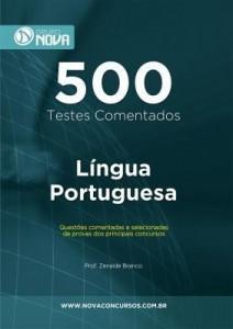 Baixar 500 Testes de Língua Portuguesa pdf, epub, eBook