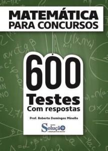 Baixar Apostila Digital Matemática para Concurso Público – 600 Questões pdf, epub, eBook