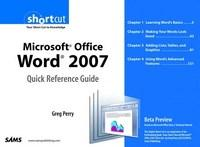 Baixar Microsoft Office Word 2007 Quick Reference Guide: Beta Preview (Digital Short Cut) pdf, epub, eBook