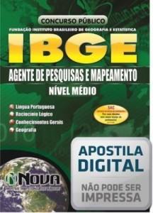 Baixar Apostila Concurso IBGE – Agente de Pesquisas e Mapeamento pdf, epub, eBook