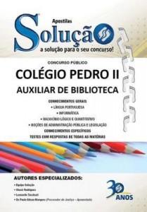 Baixar Apostila Digital Colégio Pedro II – Auxiliar de Biblioteca pdf, epub, eBook