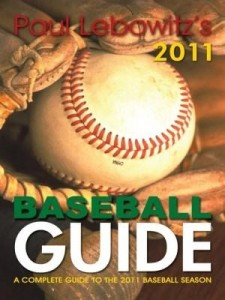 Baixar Paul Lebowitz's 2011 Baseball Guide: A Complete Guide to the 2011 Baseball Season pdf, epub, eBook