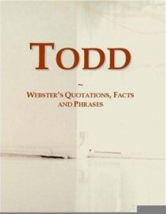 Baixar Todd: Webster¿s Quotations, Facts and Phrases pdf, epub, eBook