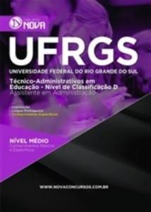 Baixar Apostila Assistente em Administração – UFRGS pdf, epub, eBook