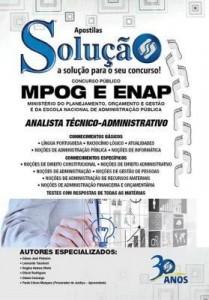 Baixar Apostila digital MPOG e ENAP – Analista Técnico-Administrativo pdf, epub, eBook