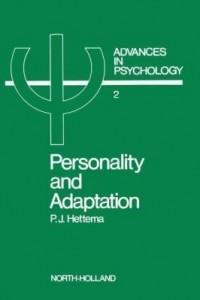 Baixar Personality and adaptation pdf, epub, eBook