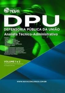 Baixar Apostila DPU – Analista Técnico Administrativo pdf, epub, eBook