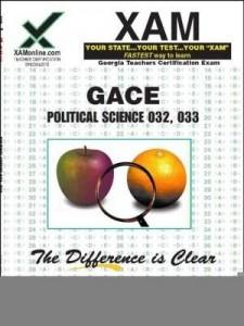 Baixar Gace Political Science 032, 033 pdf, epub, eBook