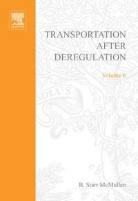 Baixar Transportation After Deregulation pdf, epub, ebook
