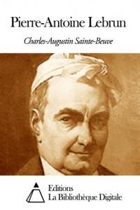 Baixar Pierre-antoine lebrun pdf, epub, eBook