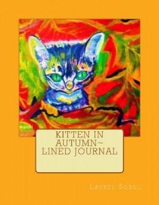 Baixar Kitten in autumn lined journal pdf, epub, eBook