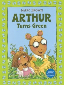 Baixar Arthur turns green pdf, epub, eBook